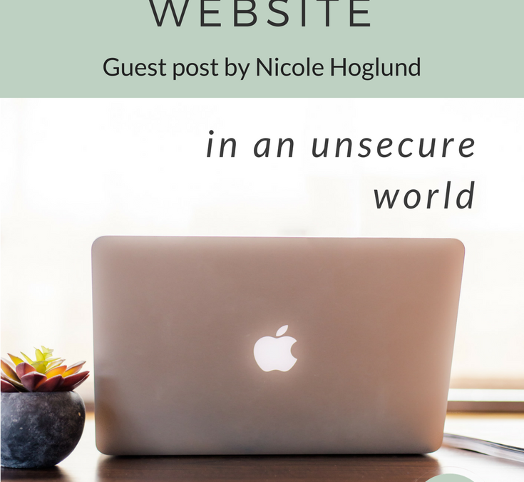 5 Tips to Securing Your Website in an Unsecure World