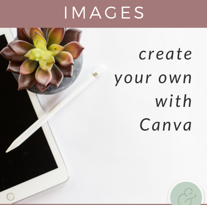 Create Your Own Pinterest Perfect Blog Images with Canva {FREE CHECKLIST!}