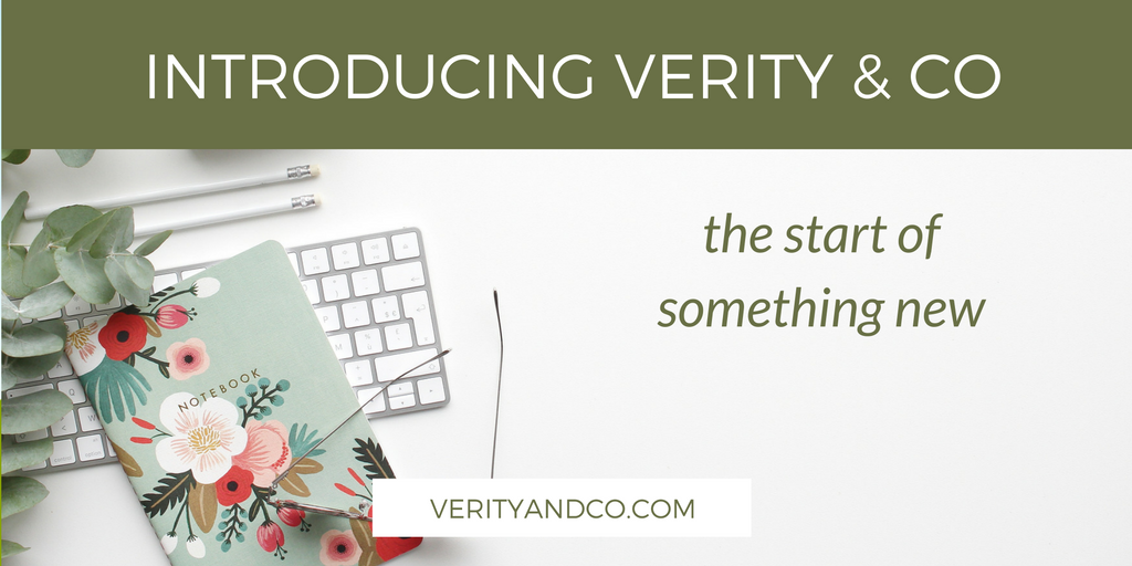 Introducing Verity & Co