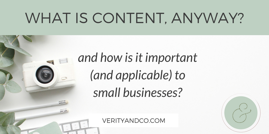 What is content, anyway?