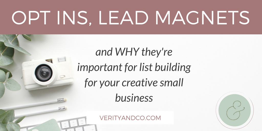 Opt-Ins, Lead Magnets, and Why They're Important for List Building