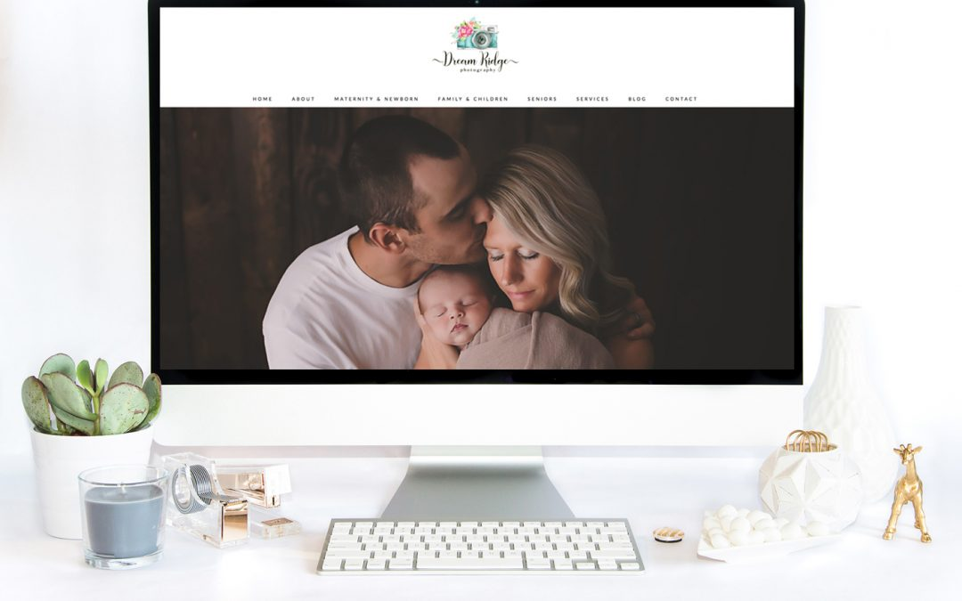 Website Design & Development: Dream Ridge Photography