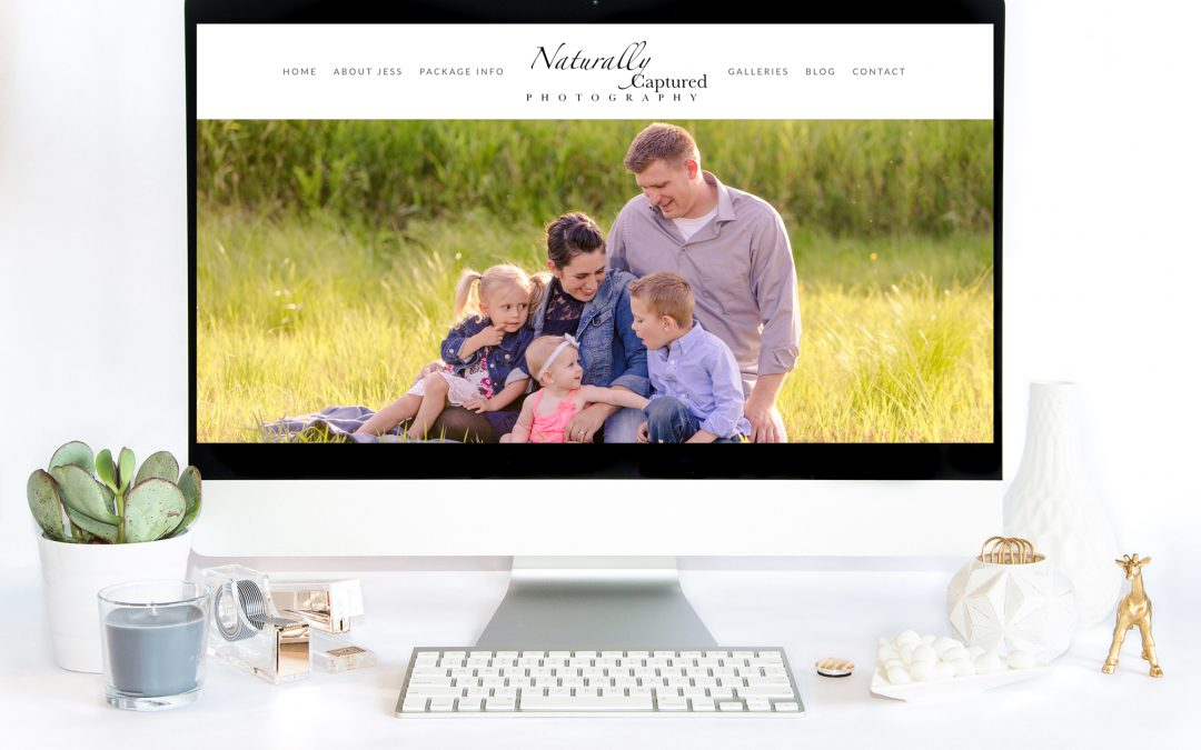 Website Redesign: Naturally Captured Photography