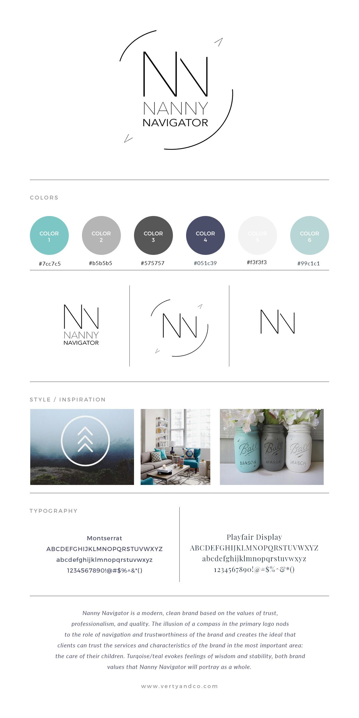Nanny Navigator Brand Board