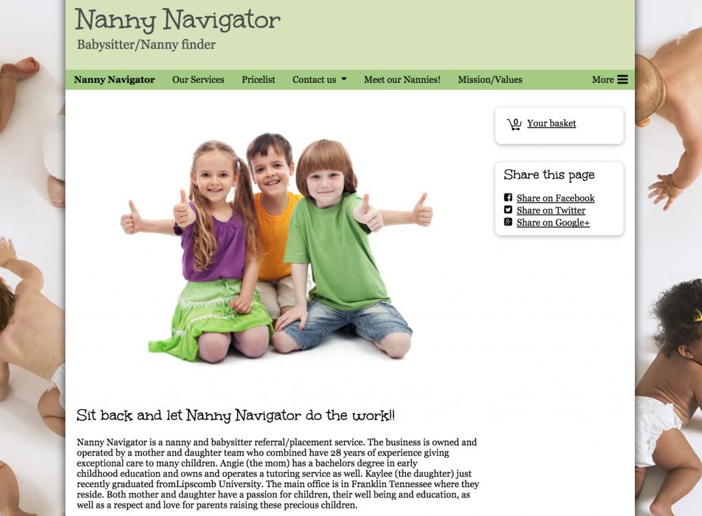 Nanny Navigator Old Branding