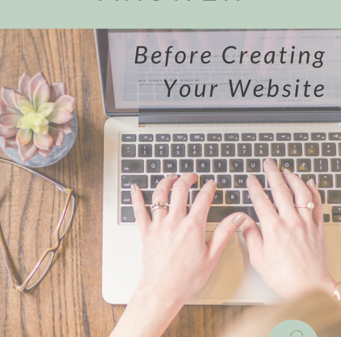 4 Questions to Answer Before Creating Your Website